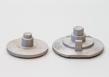3D金属プリンターで製作された自動車部品